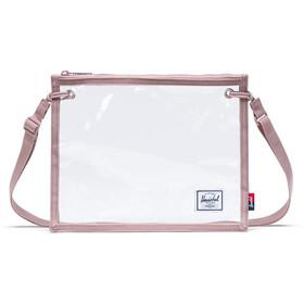 Herschel Alder Crossbody Bag ash rose/clear